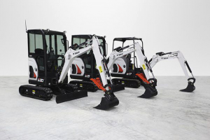 5 Reasons why to choose the Bobcat E17 Mini Digger